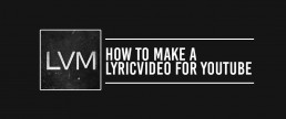 How to create a lyric video like professional with software for making lyric videos