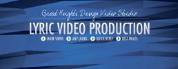 Professional and reliable lyric video company
