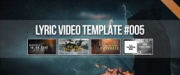 Animate metal artworks as a background for lyric videos