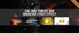 Animate your lyrics with bouncing lyrics effect with a cool lyrics video template!